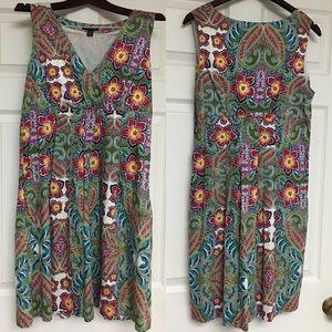 Tommy Hilfiger Floral Feminine Sleeveless Dress